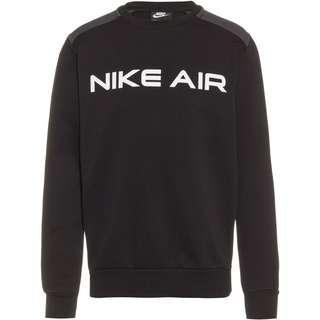 Nike NSW Air Sweatshirt Herren black-dark smoke grey-white