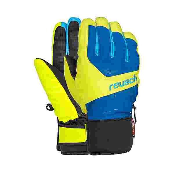 Reusch Torbenius R-TEX® XT Junior Skihandschuhe Kinder imperial blue /neon yellow