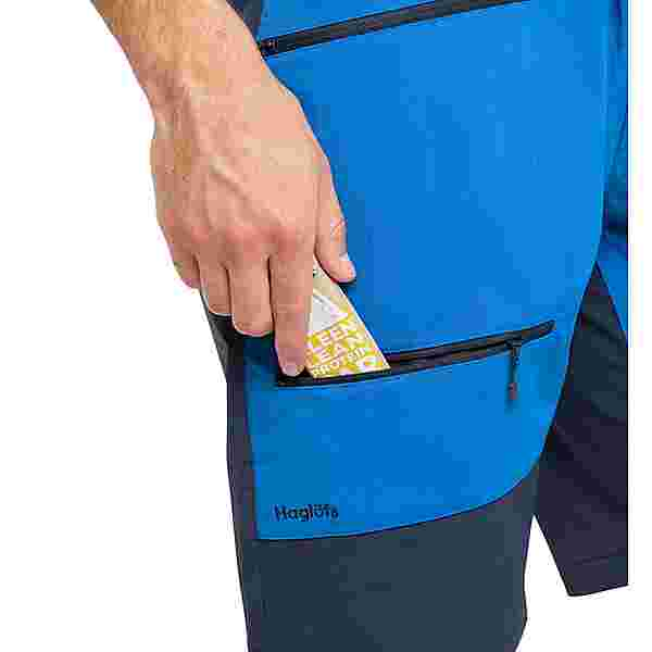Haglöfs Rugged Flex Shorts Funktionsshorts Herren Storm Blue/Tarn Blue