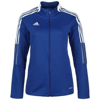 adidas Tiro 21 Trainingsjacke Damen blau / weiß
