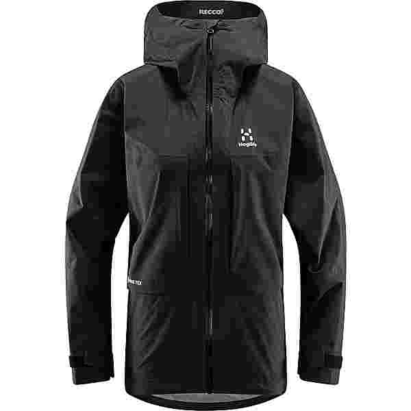 Haglöfs Roc Sheer GTX Jacket Hardshelljacke Damen True Black