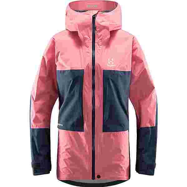 Haglöfs Roc Sheer GTX Jacket Hardshelljacke Damen Tulip Pink/Tarn Blue