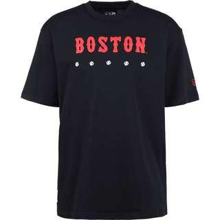 New Era Boston Red Sox Heritage Oversized T-Shirt Herren blau