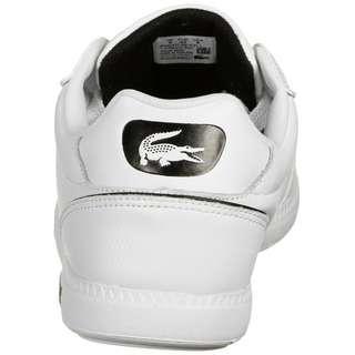 Lacoste Graduate Cap Sneaker Herren weiß / schwarz