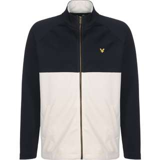 Lyle & Scott Zip Through Sweatjacke Herren blau/gelb