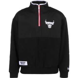 New Era Chicago Bulls Fleecepullover Herren schwarz