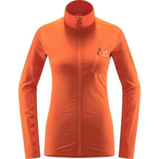 Haglöfs L.I.M Mid Jacket Fleecejacke Damen Flame Orange