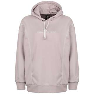 NEW BALANCE Athletics Fleece Hoodie Damen altrosa / weiß