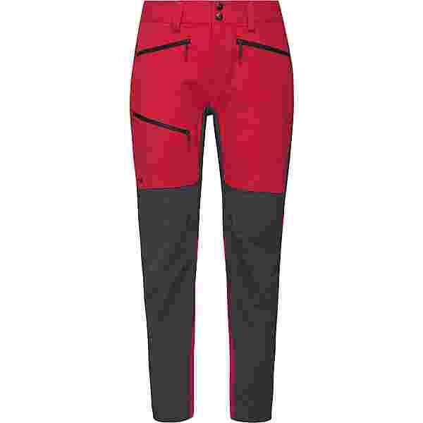 Haglöfs Rugged Flex Pant Trekkinghose Damen Scarlet Red/Magnetite