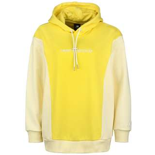 NEW BALANCE Athletics Fleece Hoodie Damen gelb / weiß