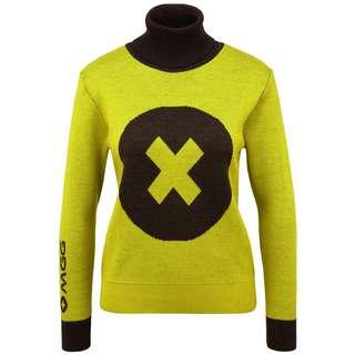 Mont Gele Gear Pullover Strickpullover Damen gelb/schwarz