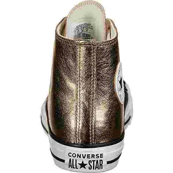 CONVERSE Chuck All Star Hi Sneaker Kinder gold/metallic