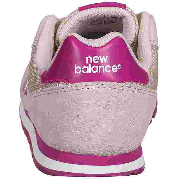NEW BALANCE YC373 Sneaker Kinder rosa / pink