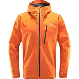 Haglöfs GORE-TEX L.I.M Jacket Hardshelljacke Herren Flame Orange
