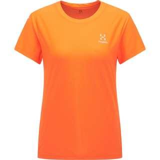 Haglöfs L.I.M Tech Tee Funktionsshirt Damen Flame Orange