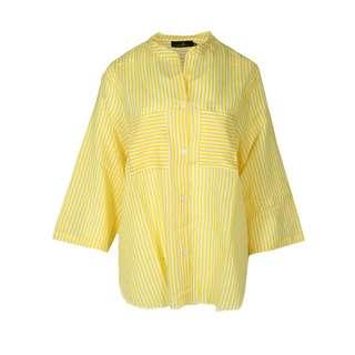 Zwillingsherz Bluse Kida Langarmbluse Damen gelb