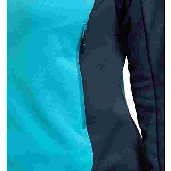 Haglöfs Frost Mid Jacket Fleecejacke Damen Tarn Blue/Maui Blue