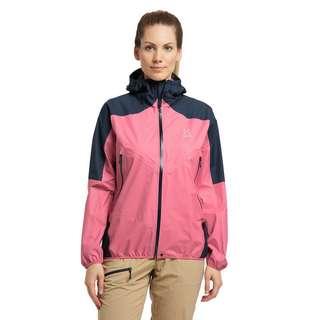 Haglöfs GORE-TEX L.I.M Comp Jacket Hardshelljacke Damen Tulip Pink/Tarn Blue