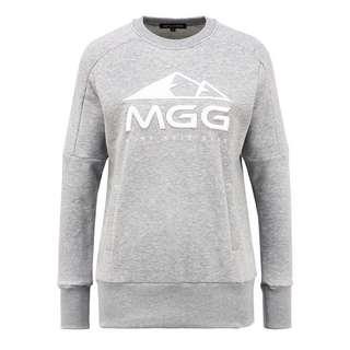 Mont Gele Gear Baumwoll-Sweatshirt Sweatshirt Damen grau