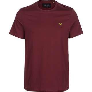 Lyle & Scott Plain T-Shirt Herren weinrot