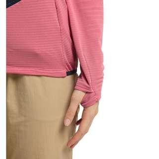 Haglöfs L.I.M Hybrid Hood Fleecejacke Damen Tulip Pink/Tarn Blue