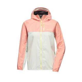 PYUA Sheet Funktionsjacke Damen powder pink foggy white
