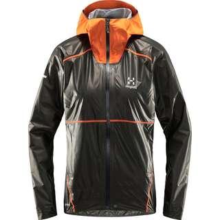 Haglöfs GORE-TEX L.I.M Breathe GTX Shakedry Jacket Hardshelljacke Herren Magnetite/Flame Orange