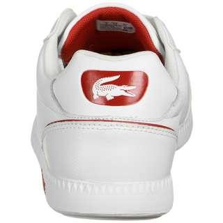 Lacoste Graduate Cap Sneaker Herren weiß / rot