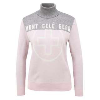 Mont Gele Gear Pullover Strickpullover Damen pink/grau
