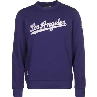New Era LA Dodgers Script Crew Sweatshirt Herren blau