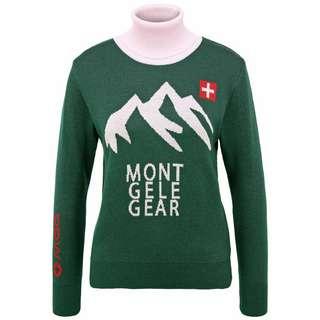 Mont Gele Gear Pullover Strickpullover Damen grün/pink