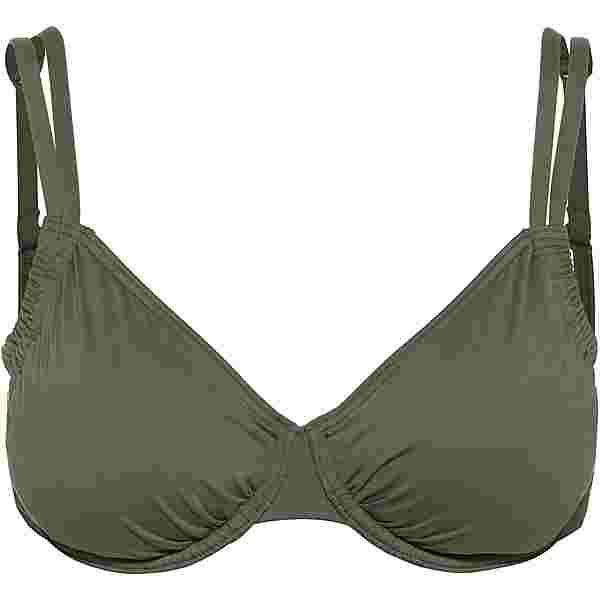 Lascana Bikini Oberteil Damen oliv