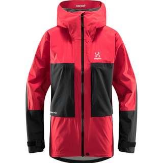 Haglöfs Roc Sheer GTX Jacket Hardshelljacke Damen Scarlet Red/True Black