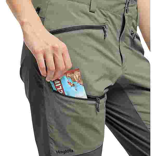 Haglöfs Lite Flex Pant Trekkinghose Damen Lite Beluga/Magnetite