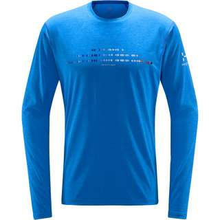 Haglöfs Ridge LS Tee Langarmshirt Herren Storm Blue