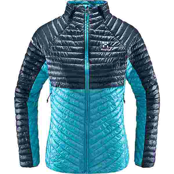 Haglöfs L.I.M Mimic Jacket Outdoorjacke Damen Maui Blue/Tarn Blue