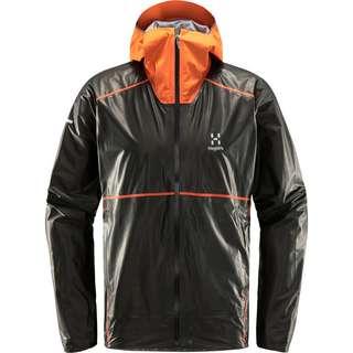 Haglöfs L.I.M Breathe GTX Shakedry Jacket Hardshelljacke Herren Magnetite/Flame Orange