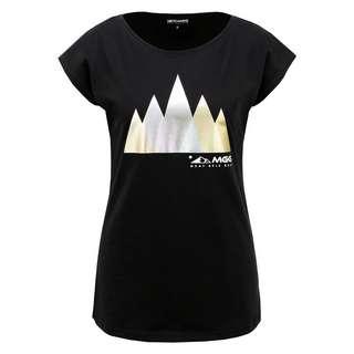 Mont Gele Gear Baumwoll-T-Shirt T-Shirt Damen schwarz