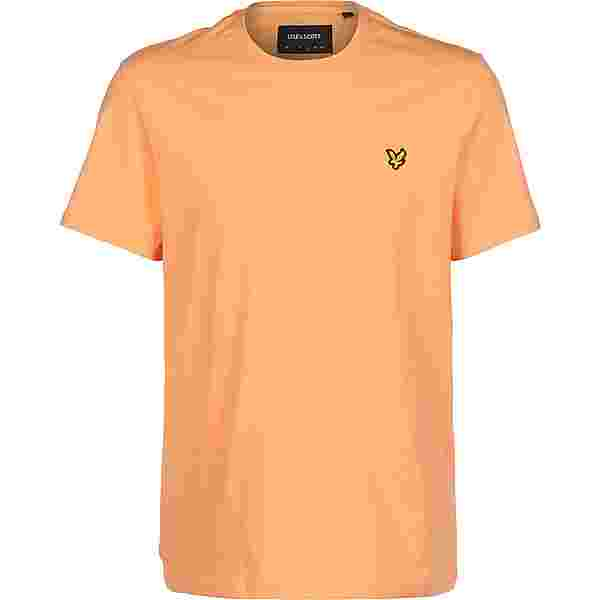 Lyle & Scott Plain T-Shirt Herren orange
