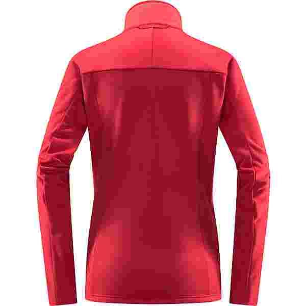 Haglöfs Frost Mid Jacket Fleecejacke Damen Scarlet Red