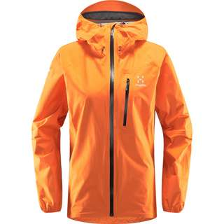 Haglöfs GORE-TEX L.I.M Jacket Hardshelljacke Damen Flame Orange