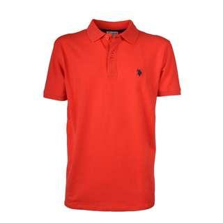U.S. Polo Assn. Polo Poloshirt Herren coral