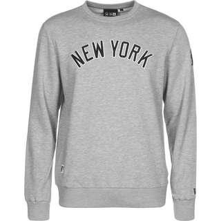 New Era MLB NY Script Wordmark Sweatshirt Herren grau/meliert