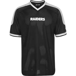 New Era Las Vegas Raiders NFL Contrast T-Shirt Herren schwarz