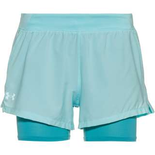 Under Armour IsoChill Run 2N1 Funktionsshorts Damen blue