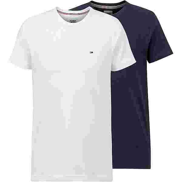 Tommy Hilfiger Shirt Doppelpack Herren white-navy
