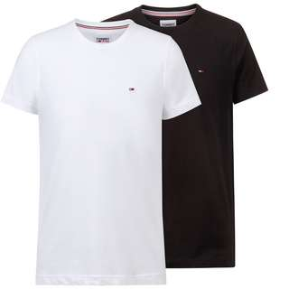 Tommy Hilfiger Shirt Doppelpack Herren white-black