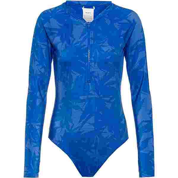 Roxy Pop Surf Neoprenshorty Damen princess blue texture flower
