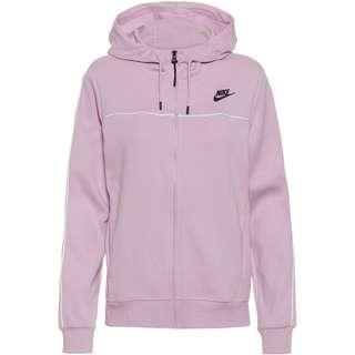 Nike Millennium Kapuzenjacke Damen iced lilac-black