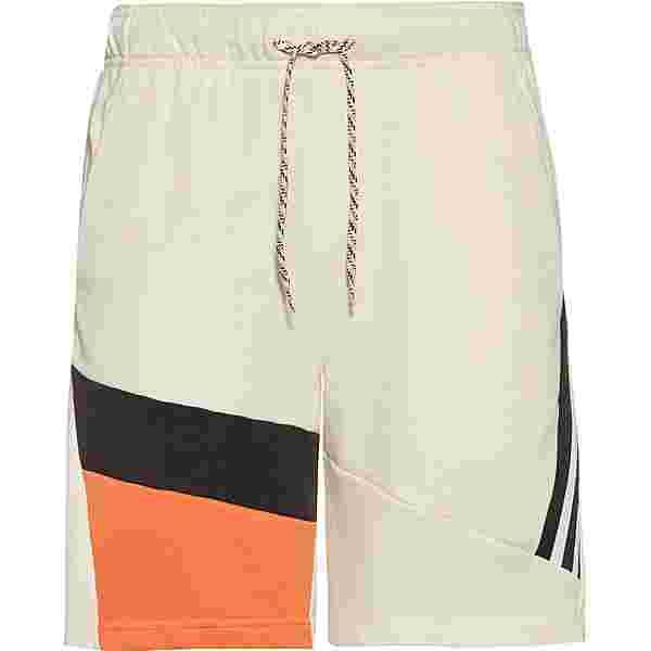 adidas 3S Shorts Herren cream white